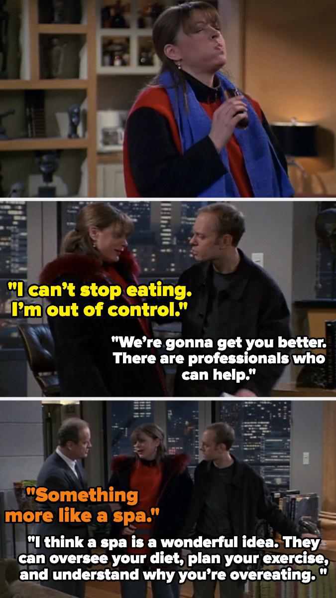 """Jane Leeves in """"Frasier"""""""