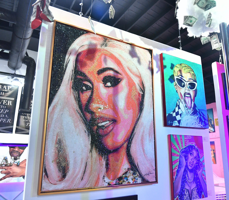 Artwork featuring Cardi