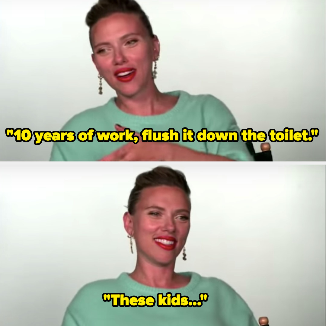 """Scarlett said, """"10 years of work, flush it down the toilet. These kids..."""""""