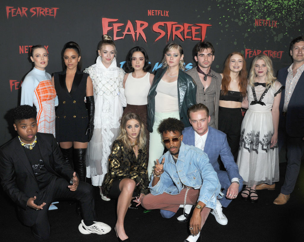 The cast of Fear Street