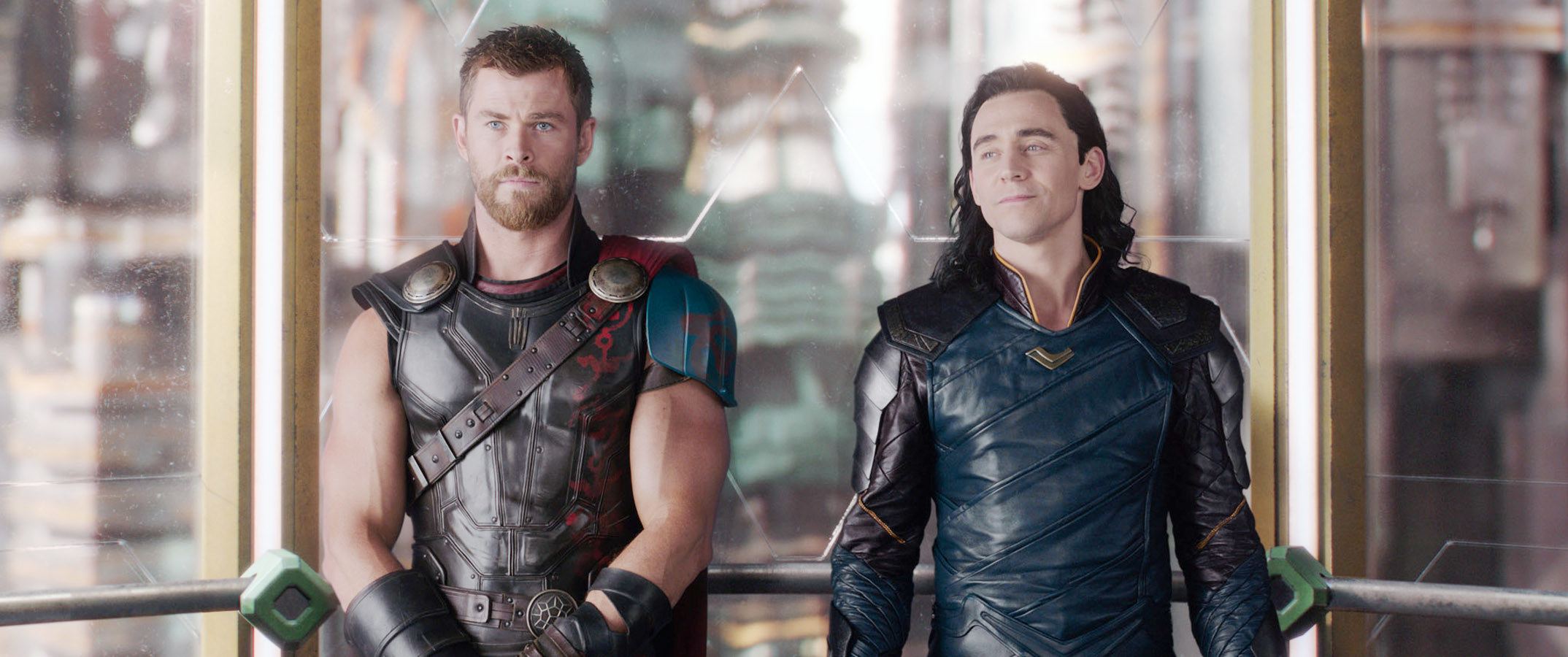 Thor and Loki in Thor: Ragnarok