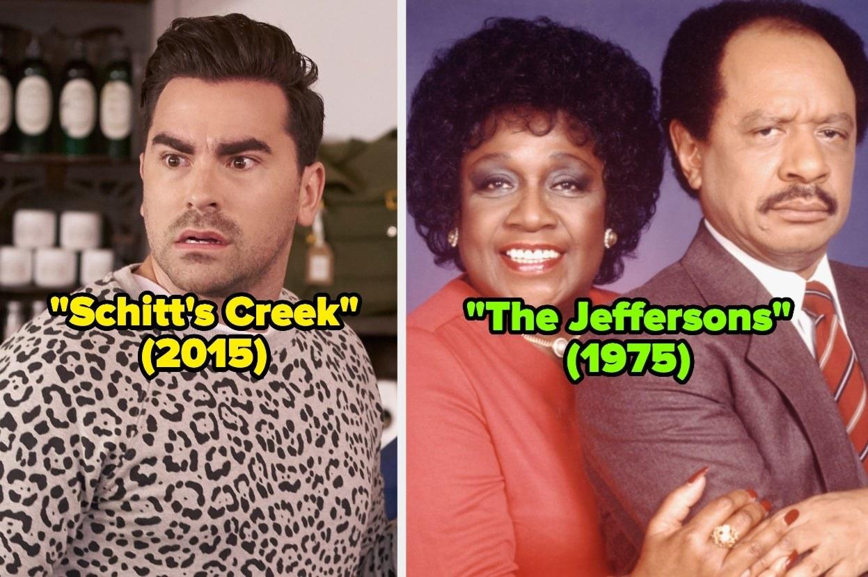"""Schitt's Creek"" and ""The Jeffersons"""