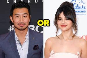 Is your best friend Simu Liu or Selena Gomez