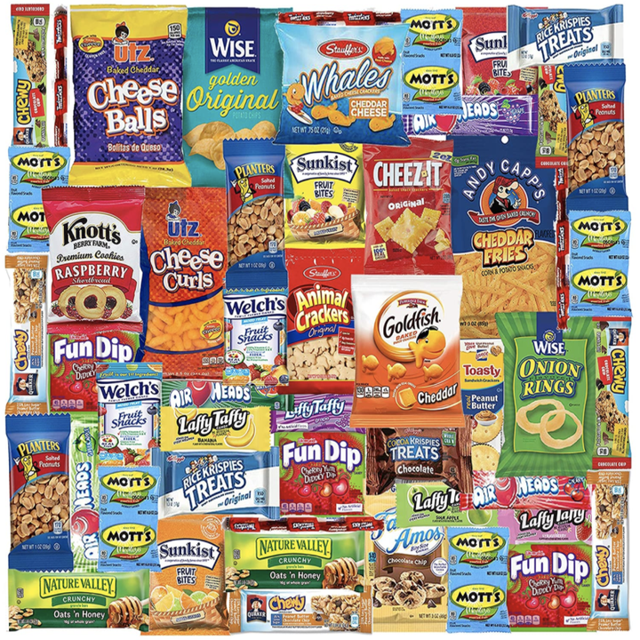 snacks that come in variety box