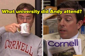 what university did andy attend?