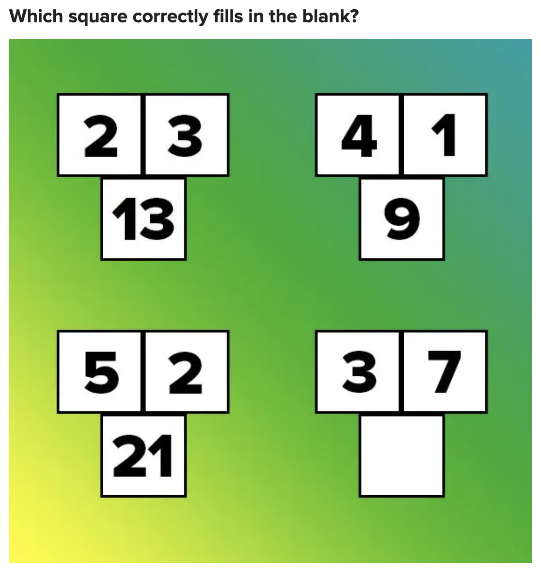 A logic puzzle game concerning numbers