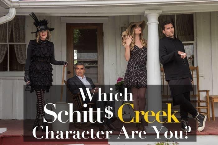 The cast of Schitt's Creek