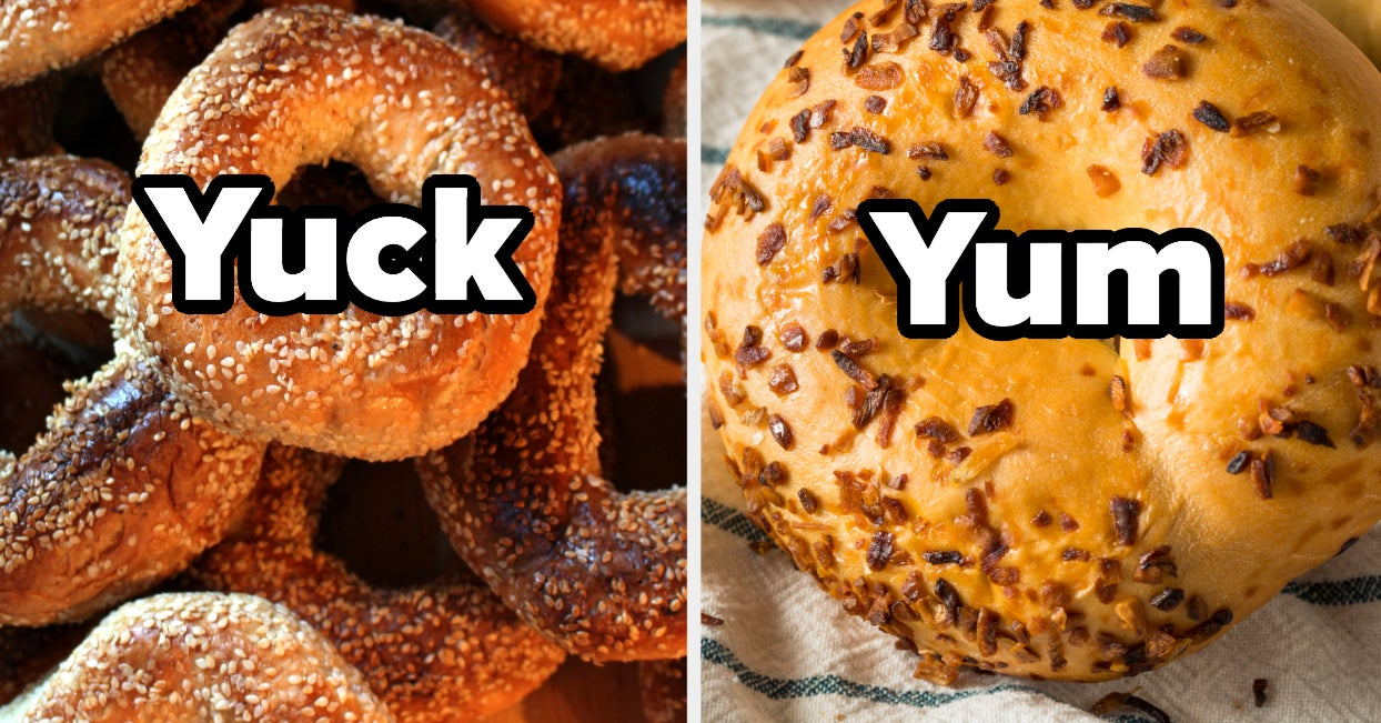 Tell Me How You Feel About These Bagel Flavors And I'll Tell You What Time You Were Born