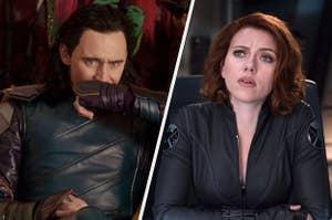 Loki and Natasha Romanoff