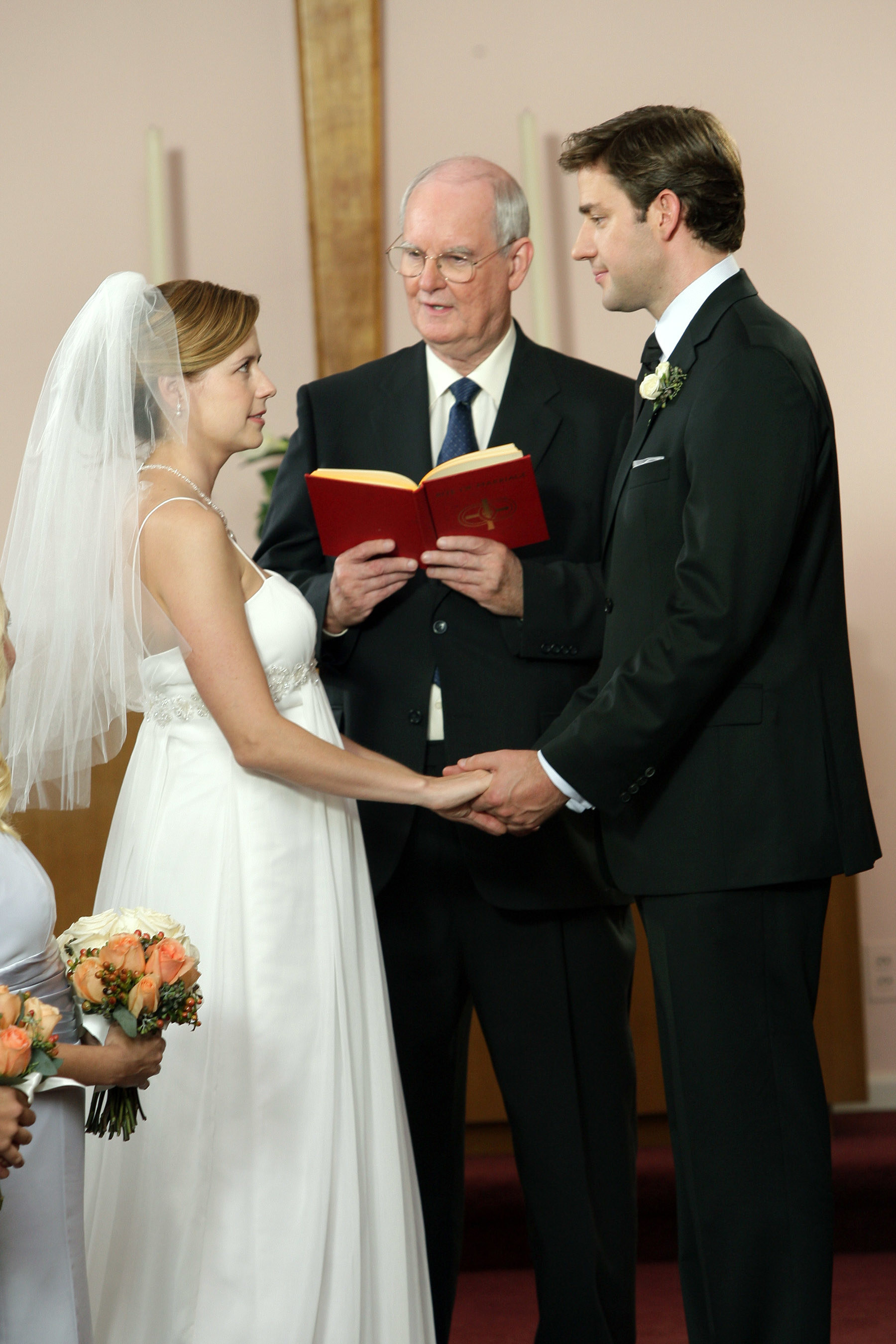 Pam and Jim getting married