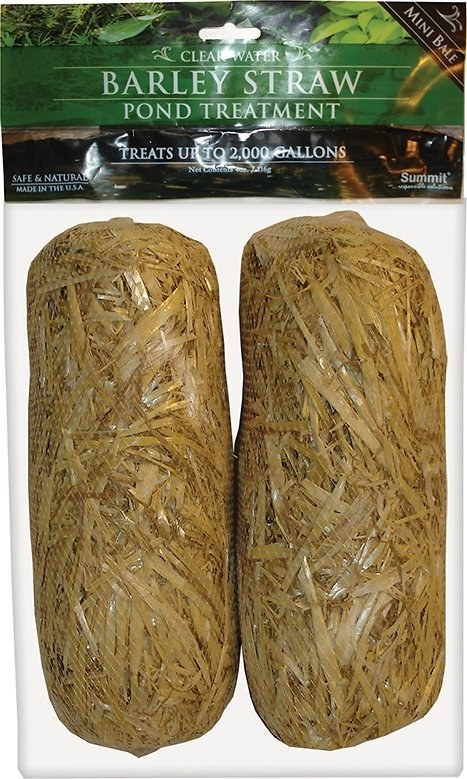 the two bundles of straw treatment