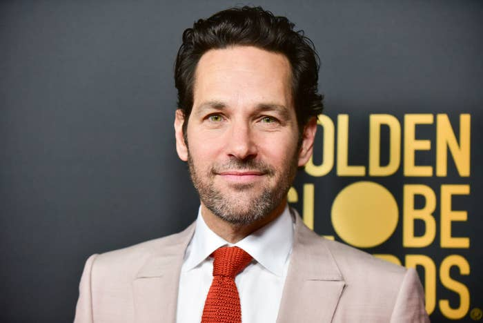 Paul Rudd attends the HFPA and THR Golden Globe Ambassador Party