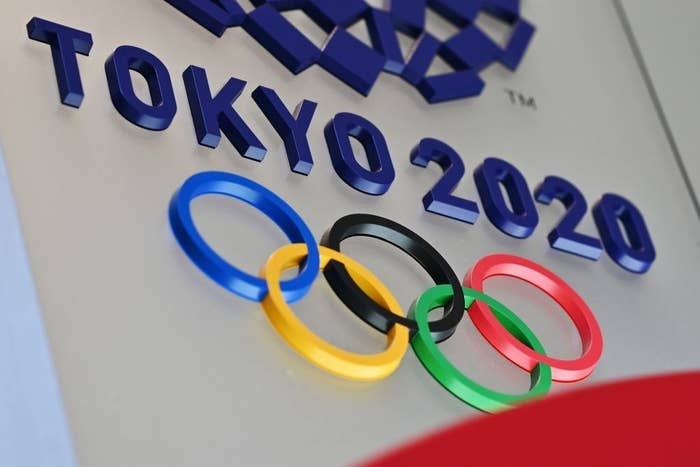 The logo for the Tokyo 2020 Olympic Games