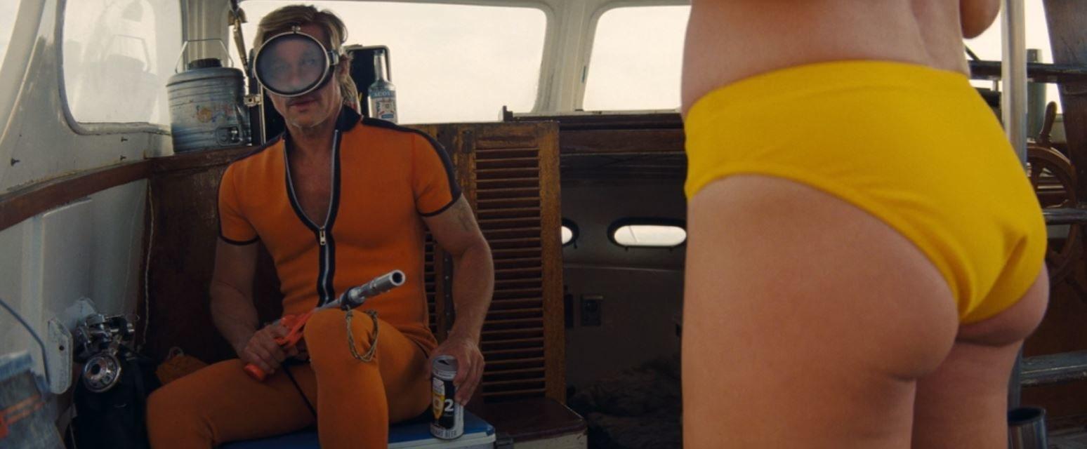 Cliff points a shark gun at his wife