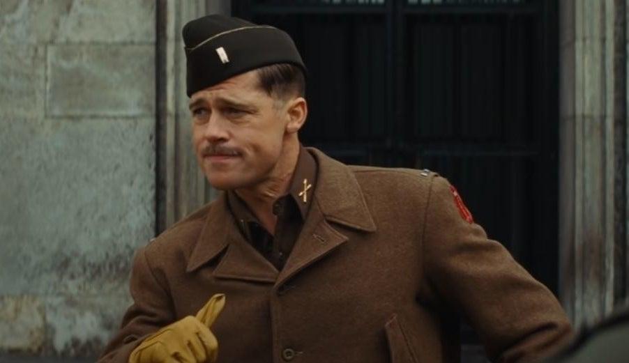 Brad Pitt as AldoRaine inInglourious Basterds (2009)