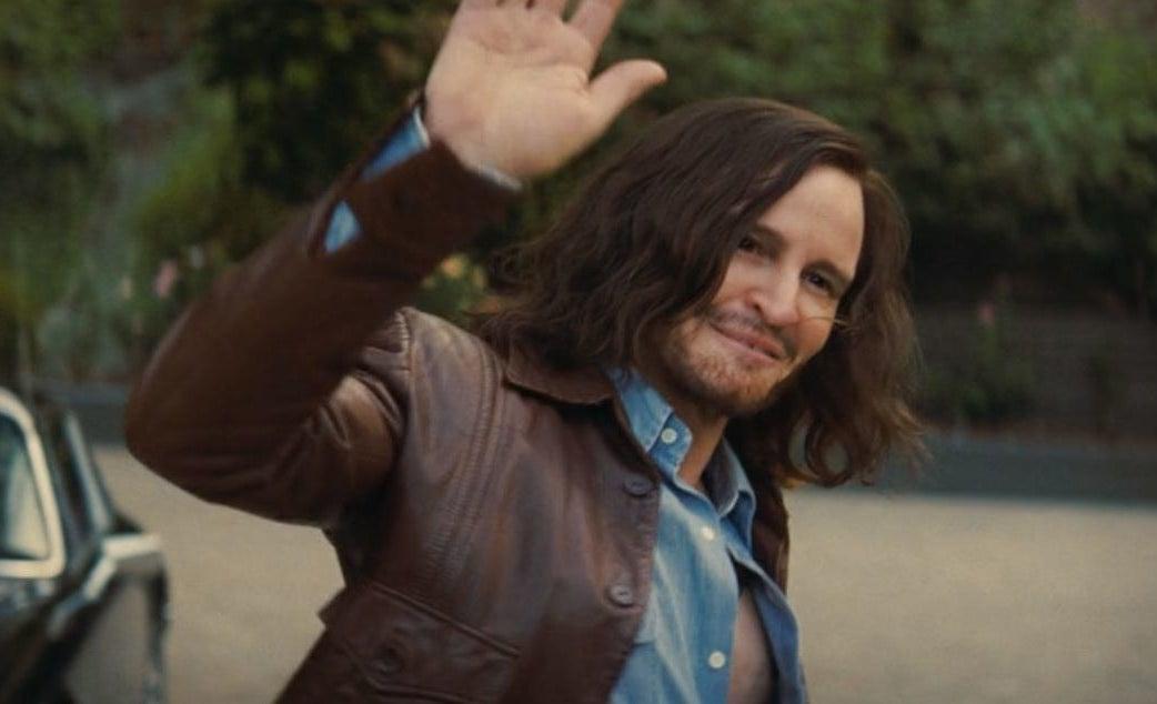 Charles Manson waves goodbye