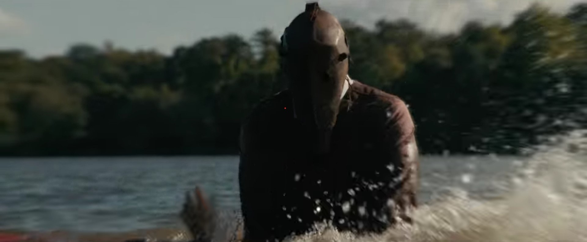The Grifter in water