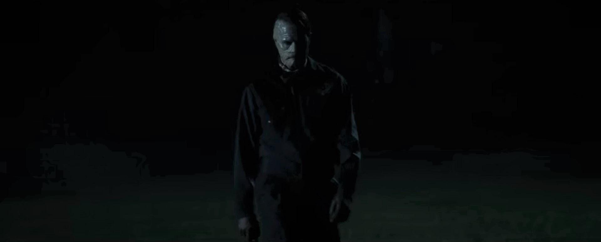 Scary-looking Milkman in the dark