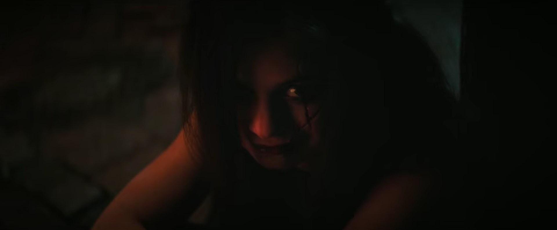 Ruby Lane in the dark