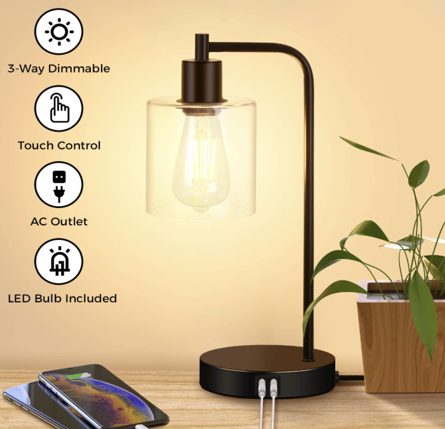 table lamp with usb ports