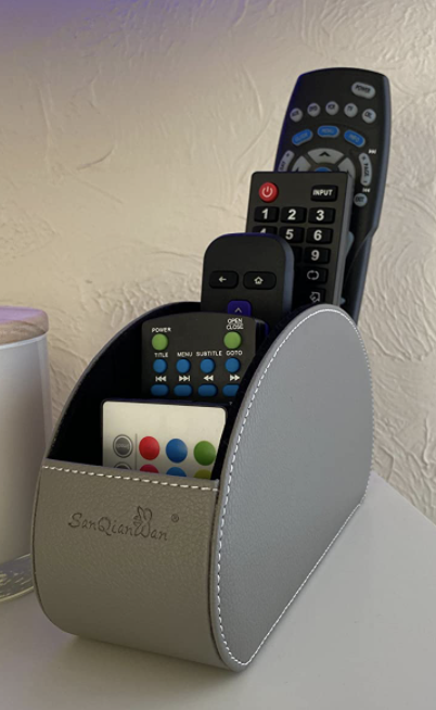 reviewer image of remote control organizer