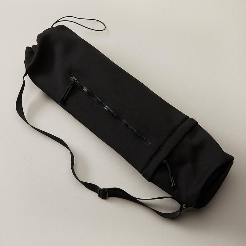 a neoprene yoga mat bag