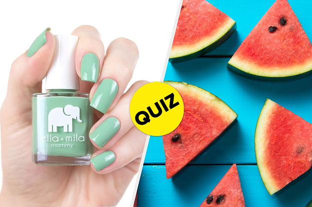 Build A Summer Bucket List And We'll Reveal Your Signature Summer Nail Polish