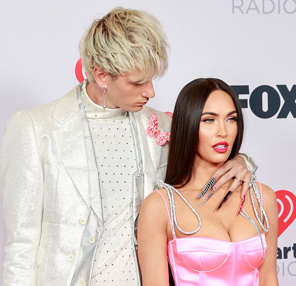 they wore satin to the iHeart Radio awards