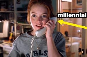 millennial parent trap phone convo