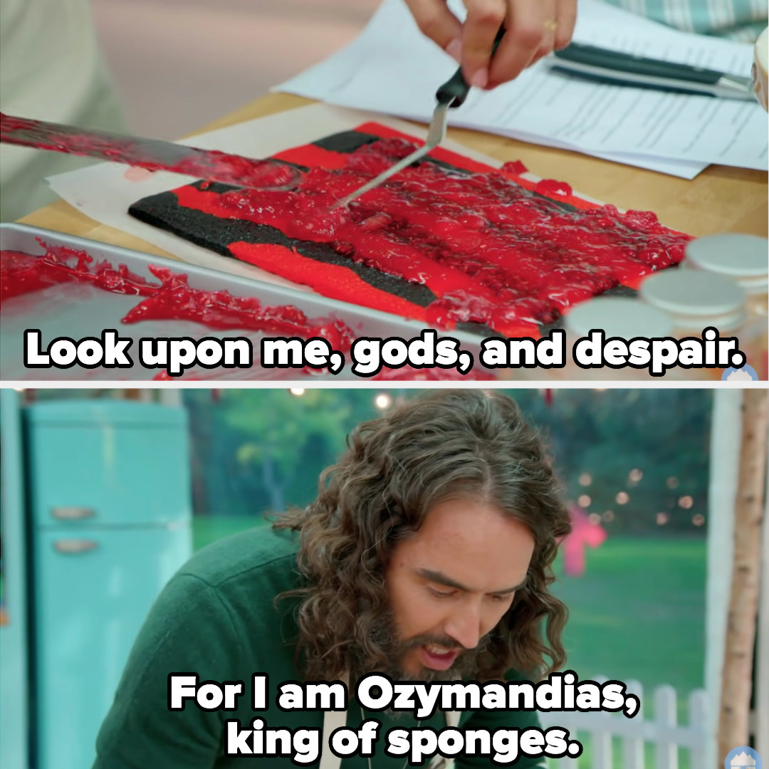 """""""Look upon me, gods, and despair. For I am Ozymadias, king of sponges"""""""