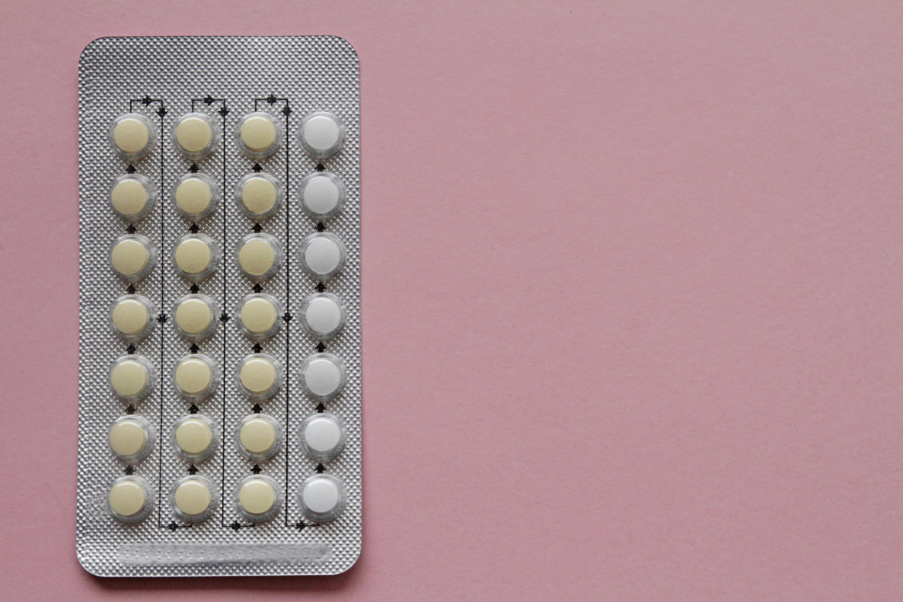 A pack of birth control