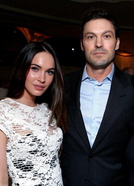 Megan and her ex-husband