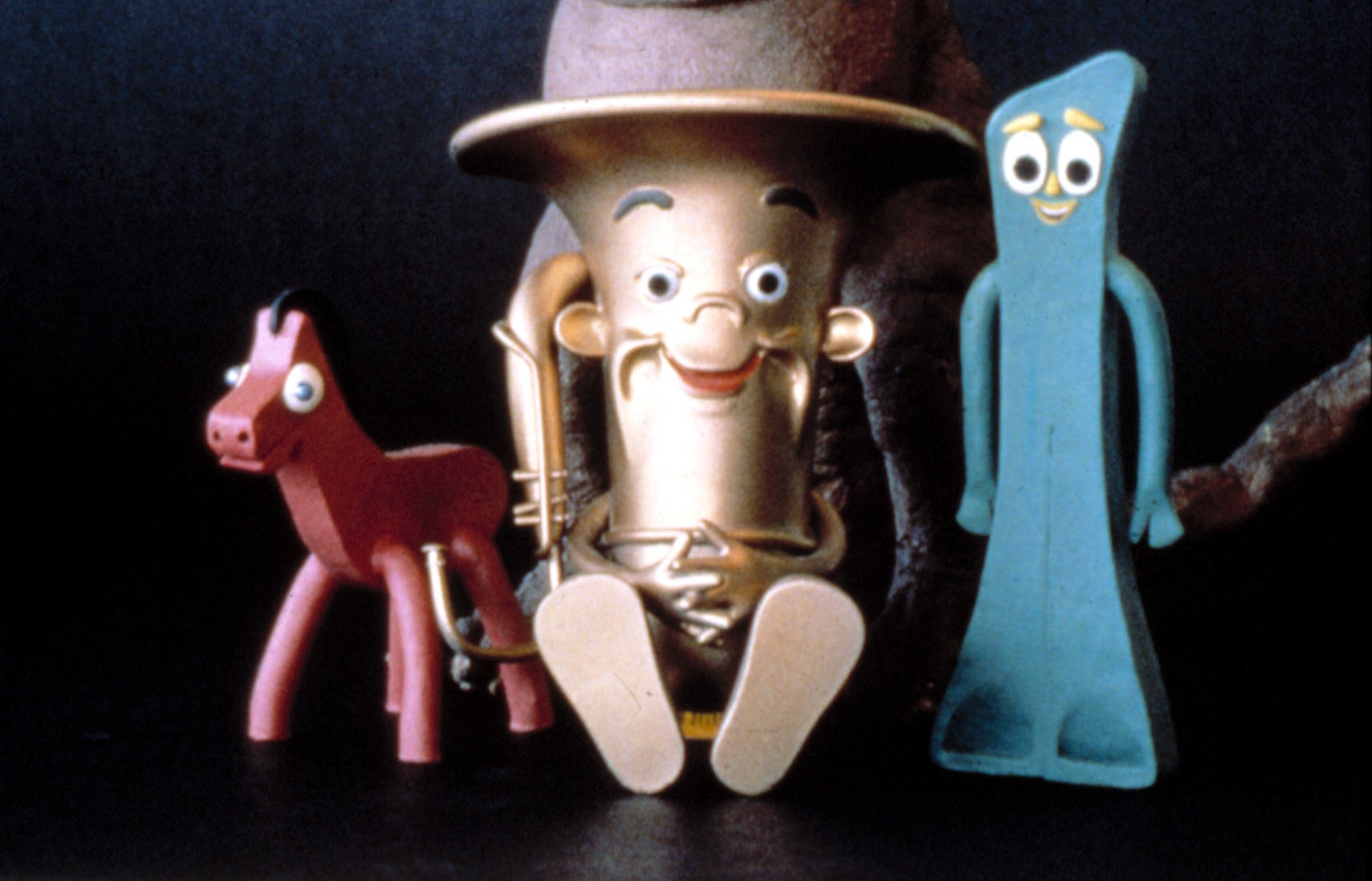 """Gumby characters from """"The Puppetoon Movie"""""""