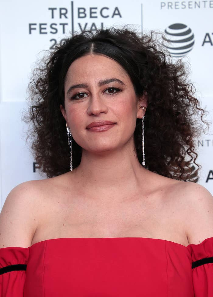 Ilana Glazer is pictured at a red carpet event