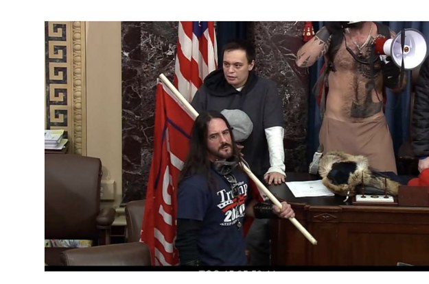 A Capitol Rioter Who Made It Onto The Senate Floor Was Sentenced To 8 Months In Prison