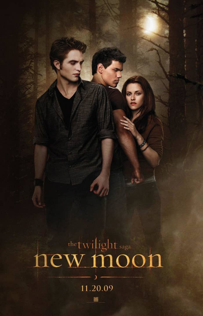 """""""New Moon"""" movie poster"""