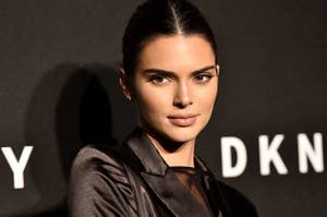 Kendall Jenner is photographed at an event