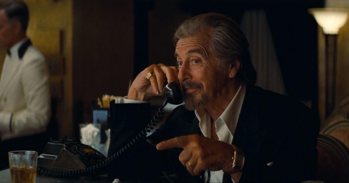 Marvin Schwarz talks on the phone