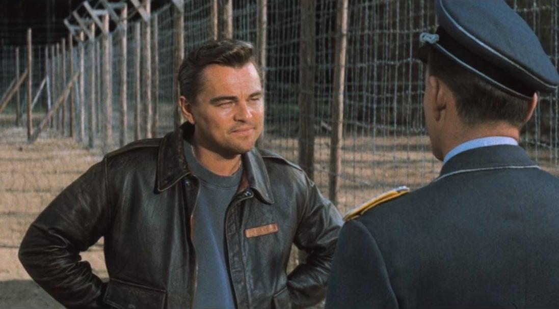 """Rick Dalton replaces Steve McQueen in """"The Great Escape"""""""