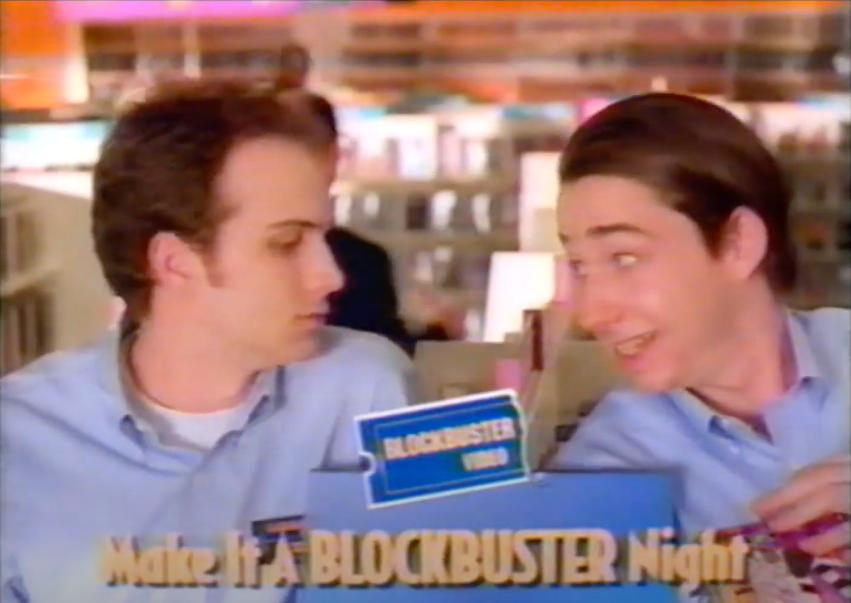 Blockbuster Night commercial screenshot