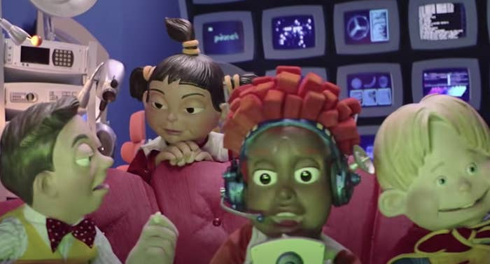 """the puppet characters in """"LazyTown"""""""