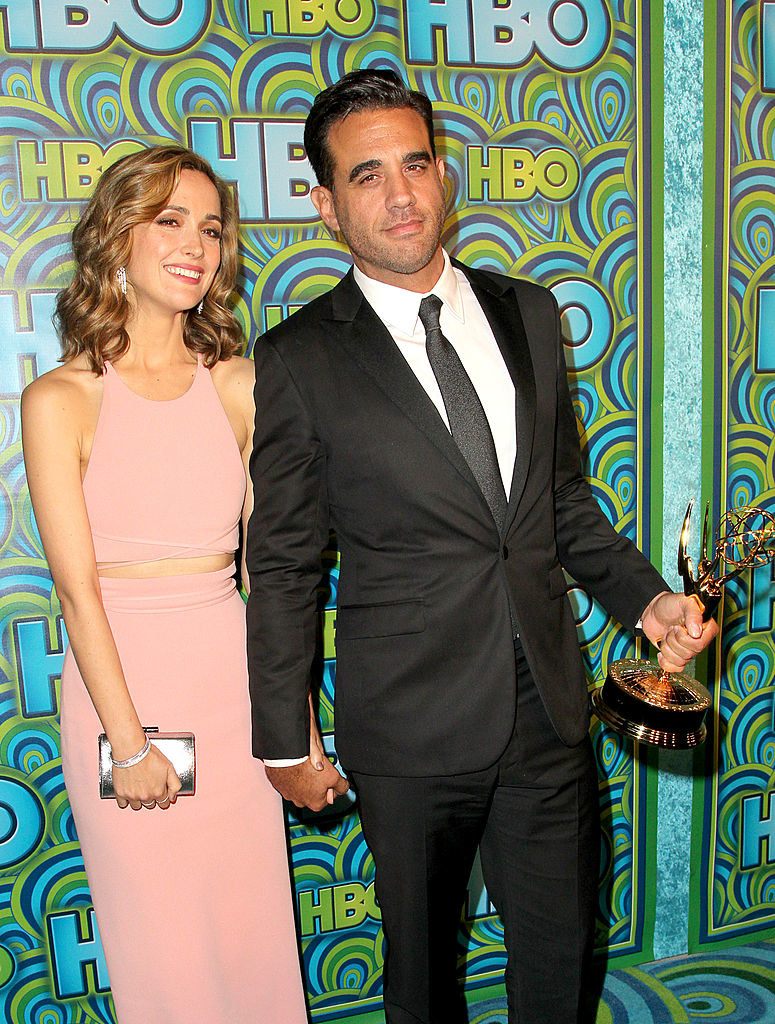 Rose Byrne (L) and Bobby Cannavale attends HBO's official Emmy After Party