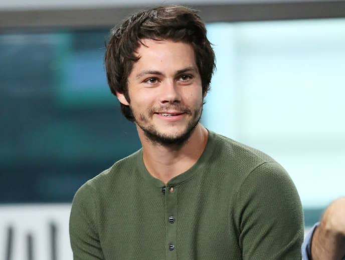 """Actor Dylan O'Brien discusses his new movie """"American Assassin"""" at Build Studio"""