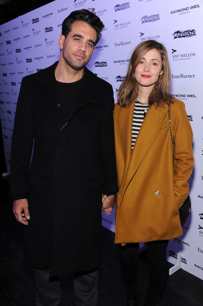 obby Cannavale (L) and Rose Byrne attend LAByrinth Theater Company Celebrity Charades 2013 Benefit Gala