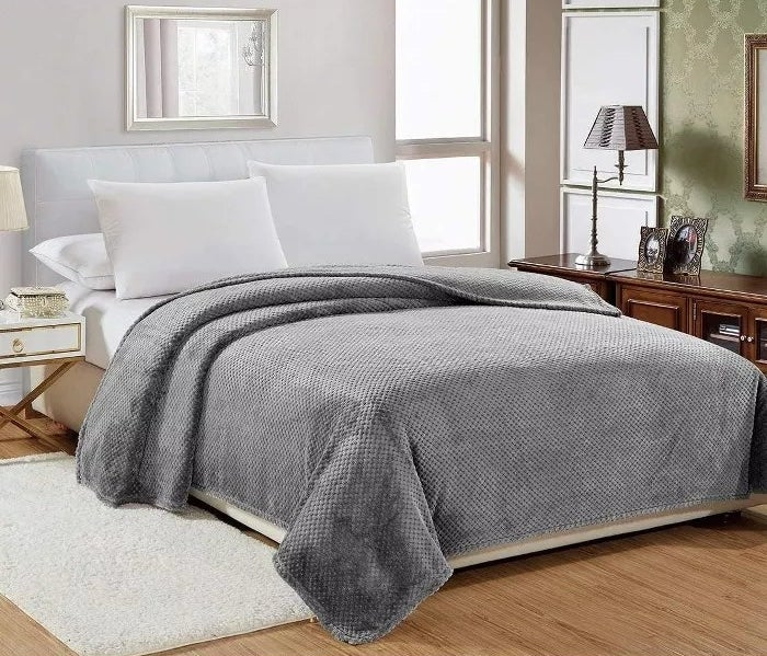 The gray blanket