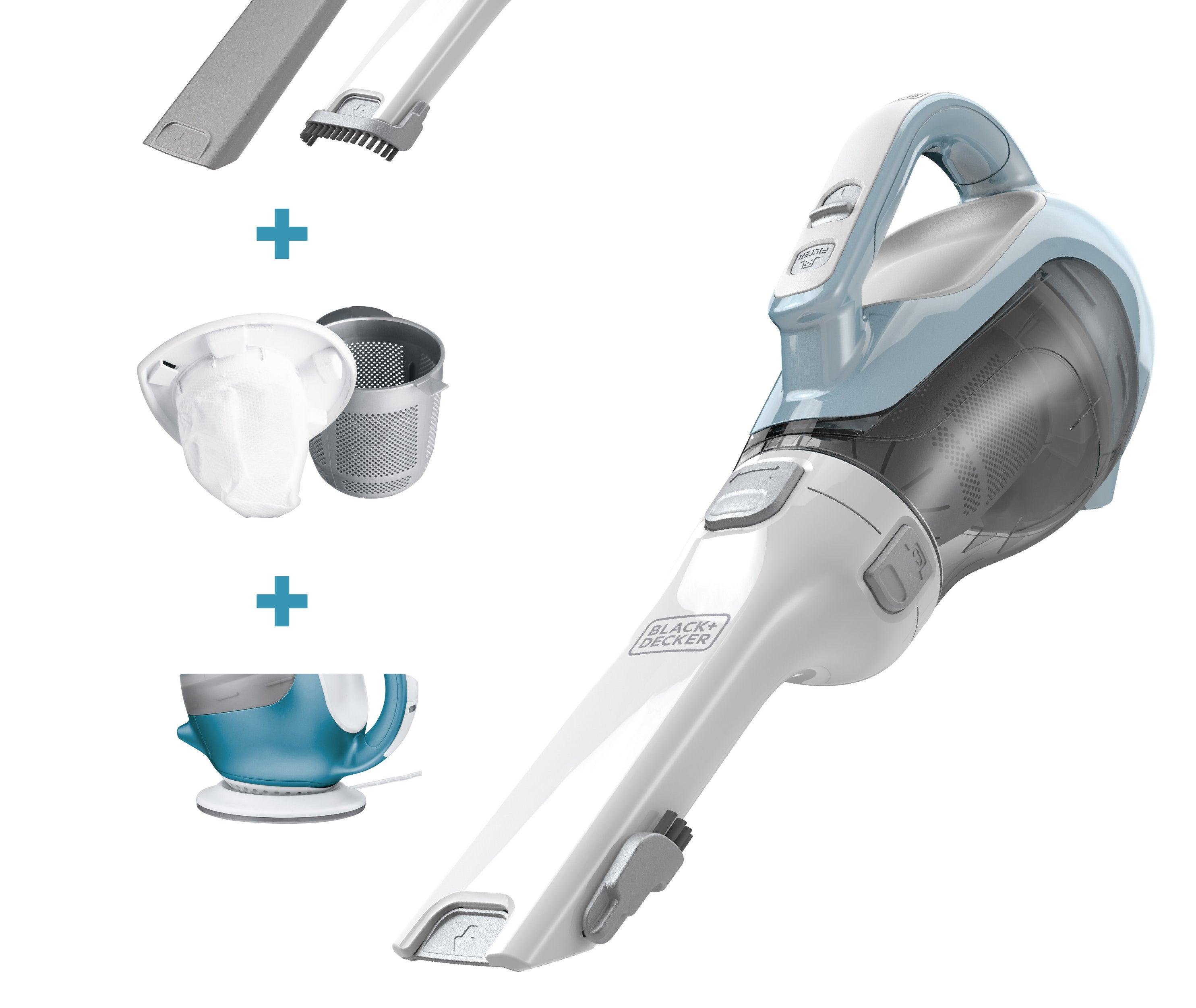 Thecordless handheld vacuum