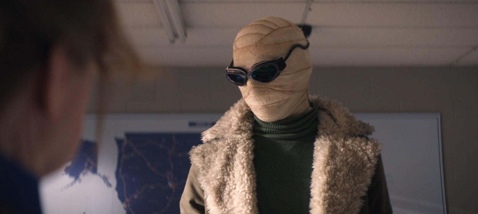 Matthew Zuk as the Negative Man
