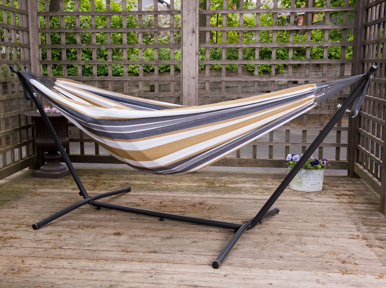 The desert moondouble deluxe hammock with fringe