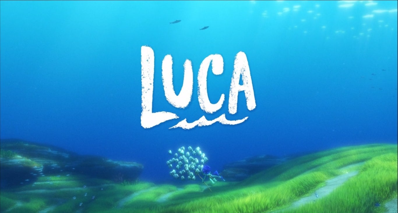Luca opening title under the sea