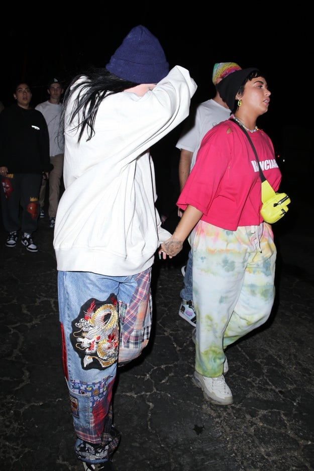 Demi Lovato And Noah Cyrus Spotted Holding Hands Again